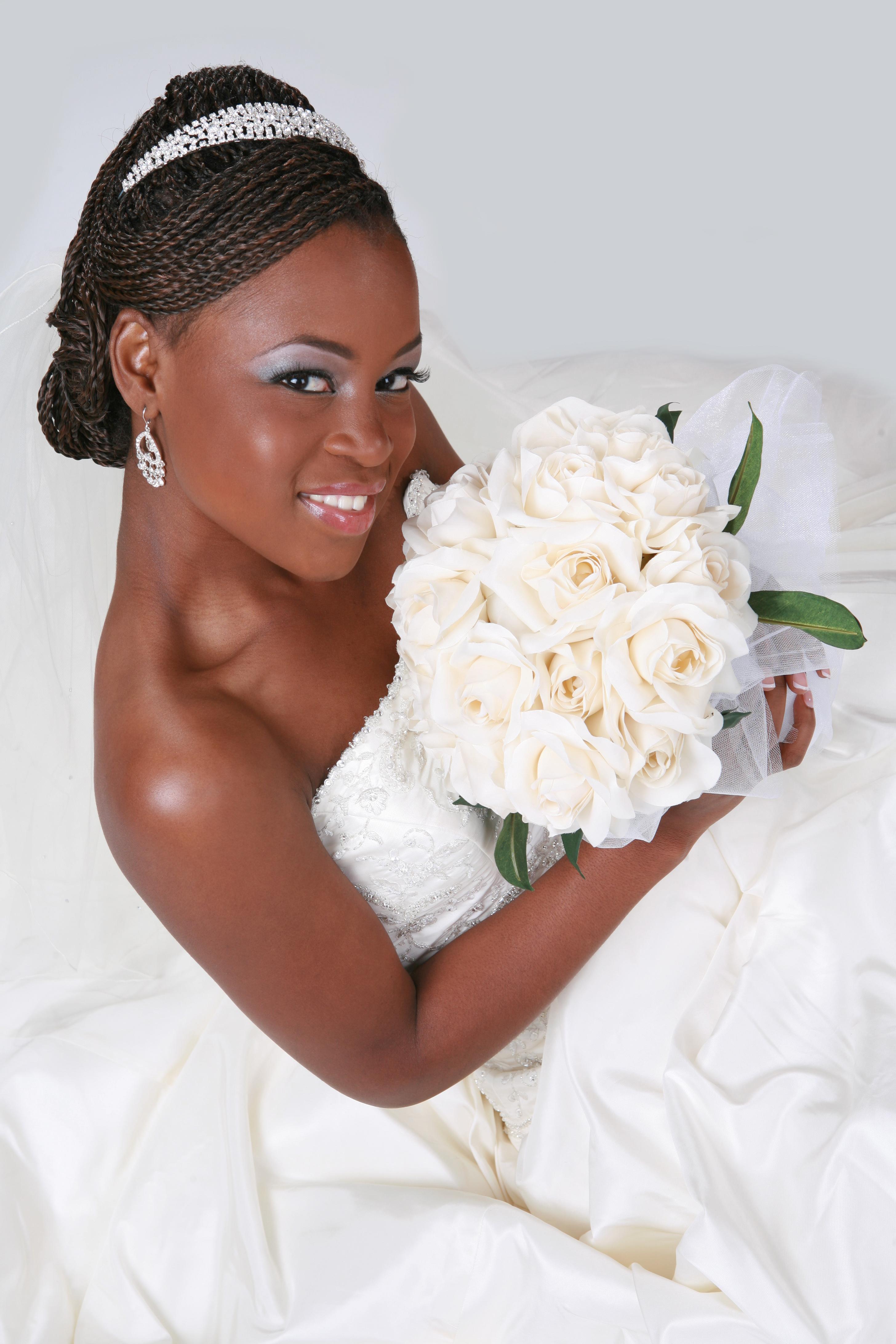 Bride Weddings Natural Hair