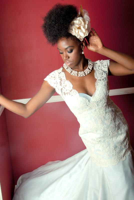 Wedding Hairstyle Natural Hair : Inspiration for natural hair brides afrobella
