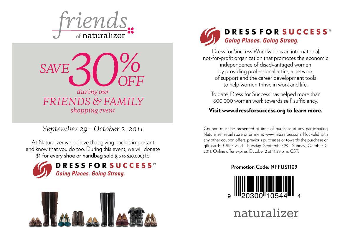 Naturalizer coupon code