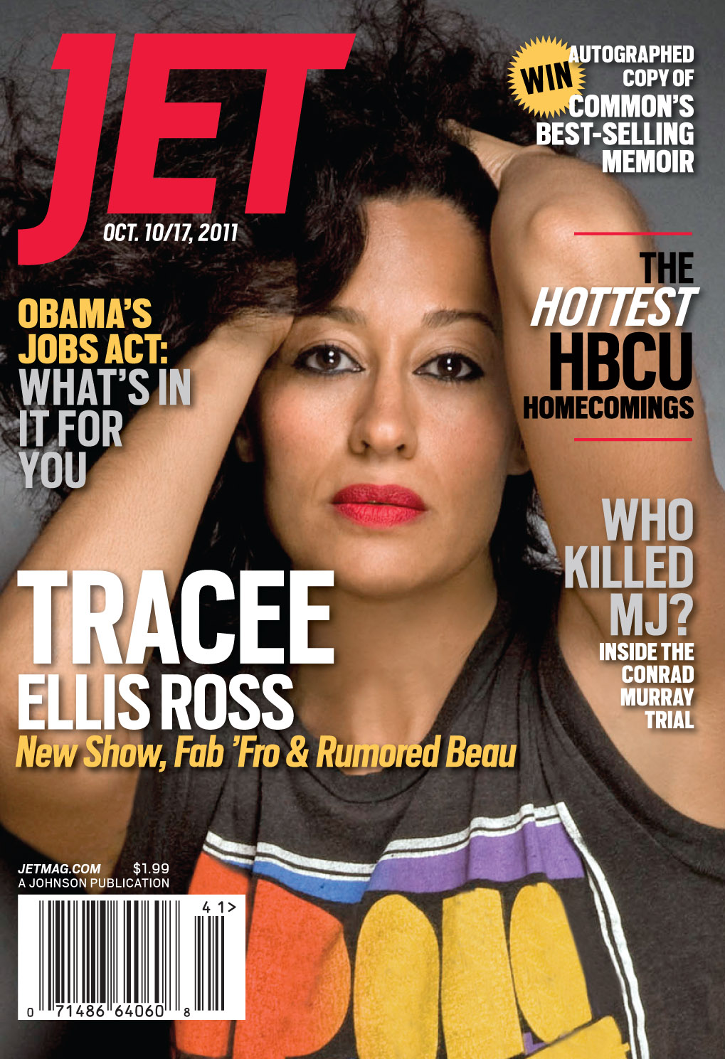 Tracee Ellis Ross And That Gorgeous Hair, On The Cover Of