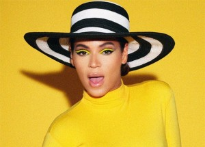 Makeup Inspiration – Beyonce's Countdown and that Yellow Cat's Eye