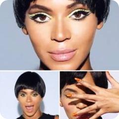 Beyonce Countdown Makeup