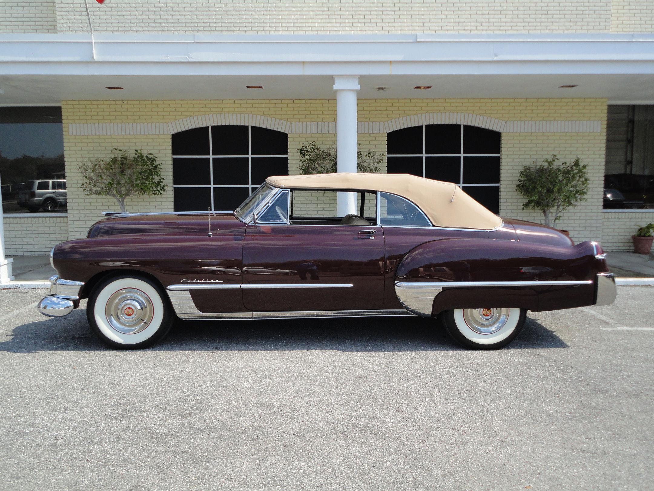 No TV antenna in the back? Car photo via vintagemotorssarasota.com