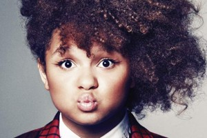 Rachel Crow X Factor natural hair