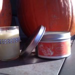 Pumpkin Spice and Jasmine candles by Yum Yum Candle. HEAVEN!