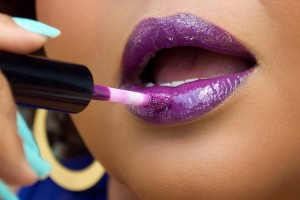 mac purple lipglass all of my purple life afrobella