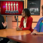 Dean Richards, Luvvie and me on the WGN set! Click to watch!