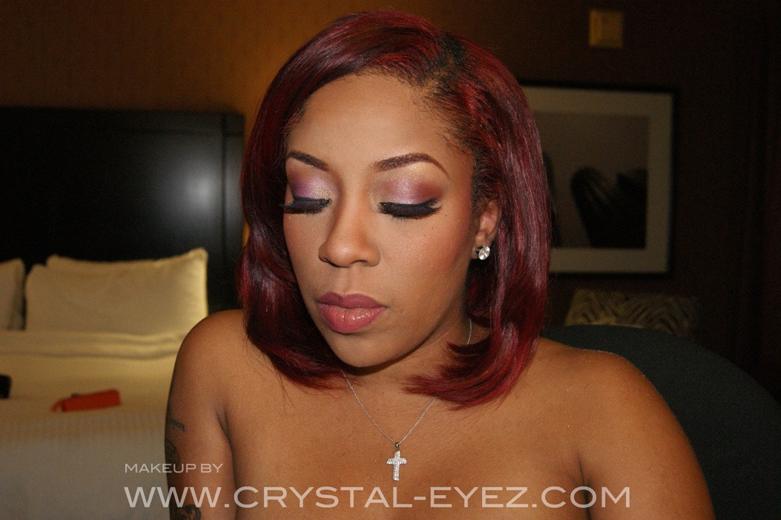 Conya Doss was here for a  K Michelle Real Hair