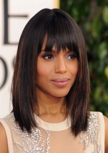 Kerry Washington at the Golden Globes. Get The Look!