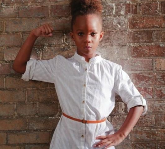 Quvenzhane Wallis Afrobella