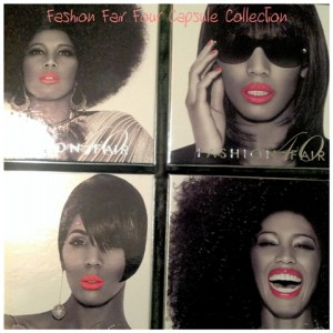 Fashion Fair Four Capsule Collection via Afrobella