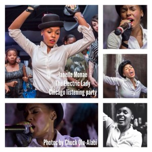 10 Amazing Moments From The Janelle Monae Listening Party in Chicago