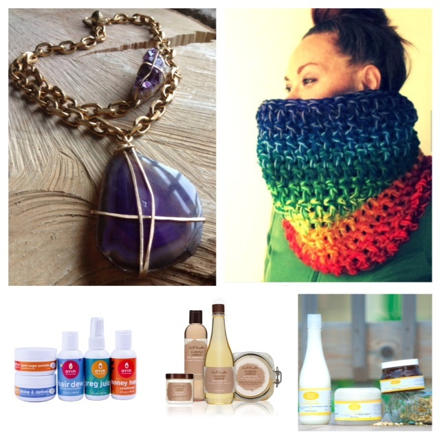 Natural Hair Holiday Gifts