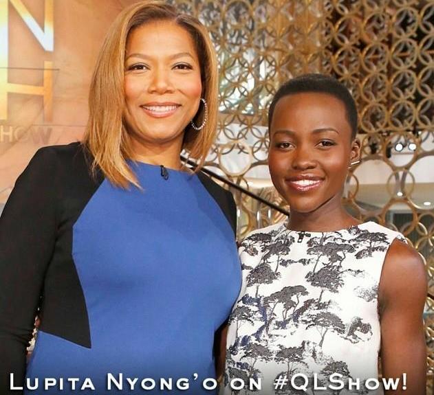 Queen Latifah Lupita Nyongo