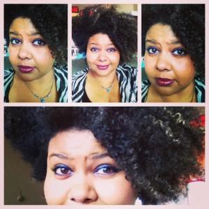 Afrobella makeup