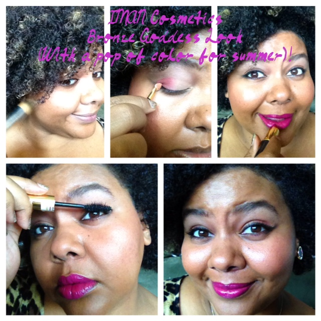 AfrobellaImanBronzeGoddessLook