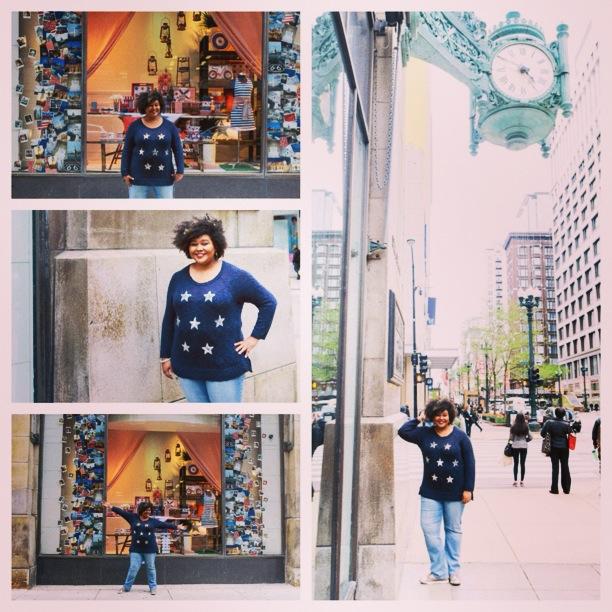 AfrobellaMacysAmericanIconsStarSweater