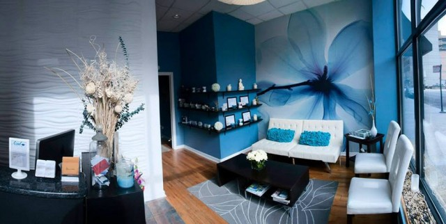 Azul Holistic Spa Spa Week - Front desk and Waiting Area