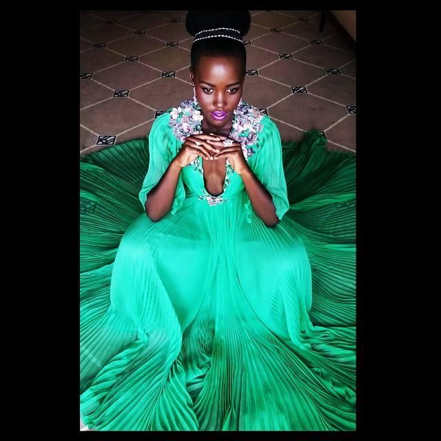 Lupita Nyong'o Cannes Makeup