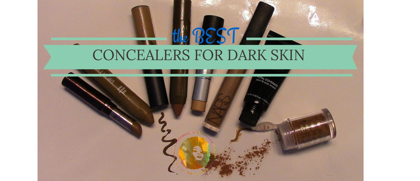 best concealers for dark skin