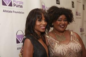 Purses and Charms and Kerry Washington! Inside The Purple Purse Experience