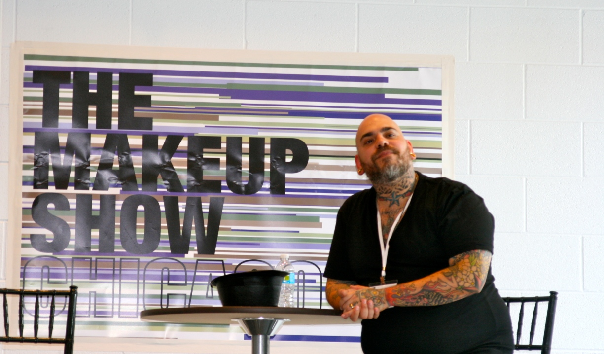 James Vincent at the debut of The Makeup Show Chicago in 2011. Photo source: NowYouKnowEvents.com.