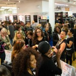 The usual scene at The Makeup Show Chicago!