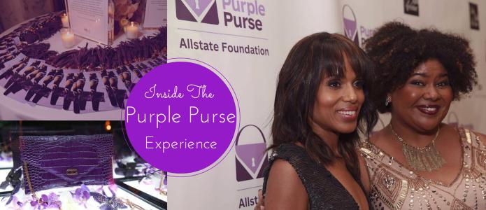 afrobella purple purse