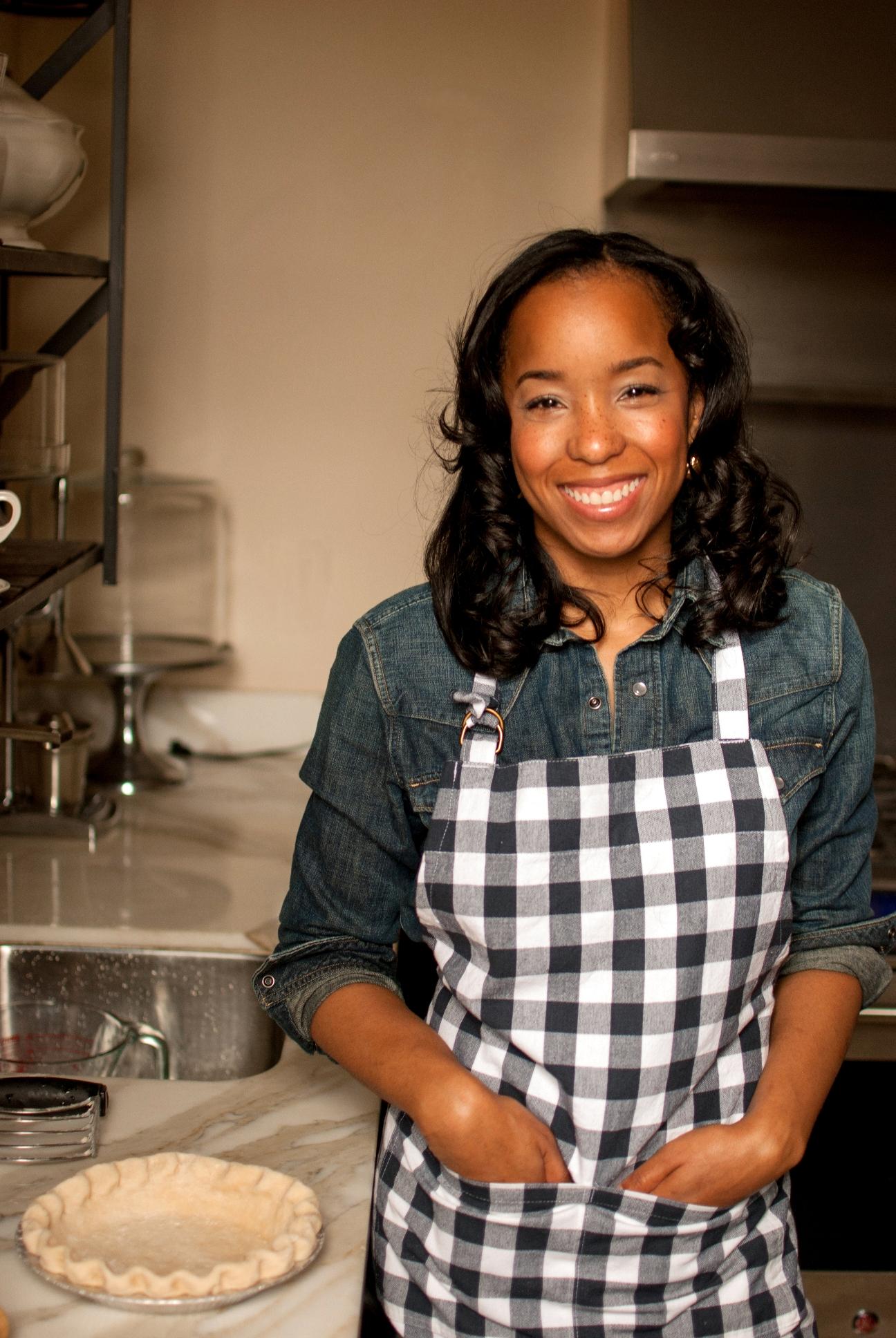 Maya-Camille Broussard in Kitchen