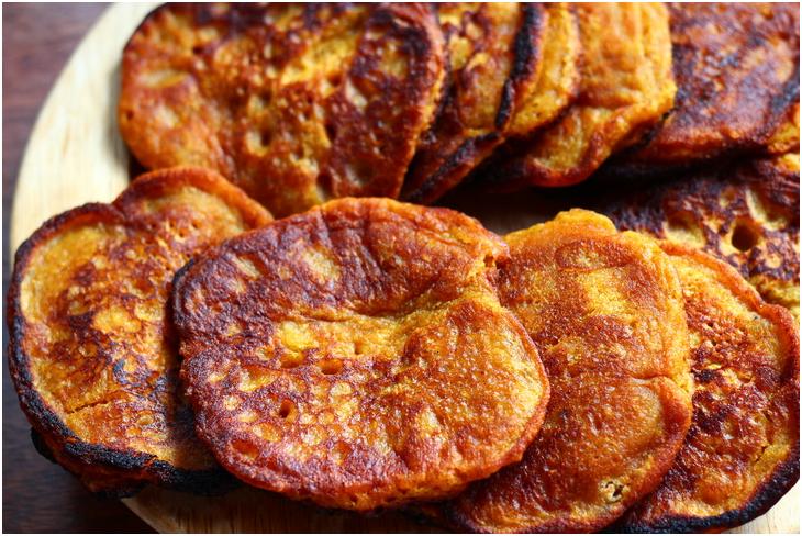 Pumpkin Banana Fritters