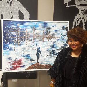 All of the Incredible Artists At the Harlem Fine Arts Show!