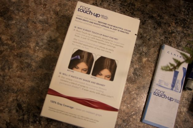 clairol root touch up instructions