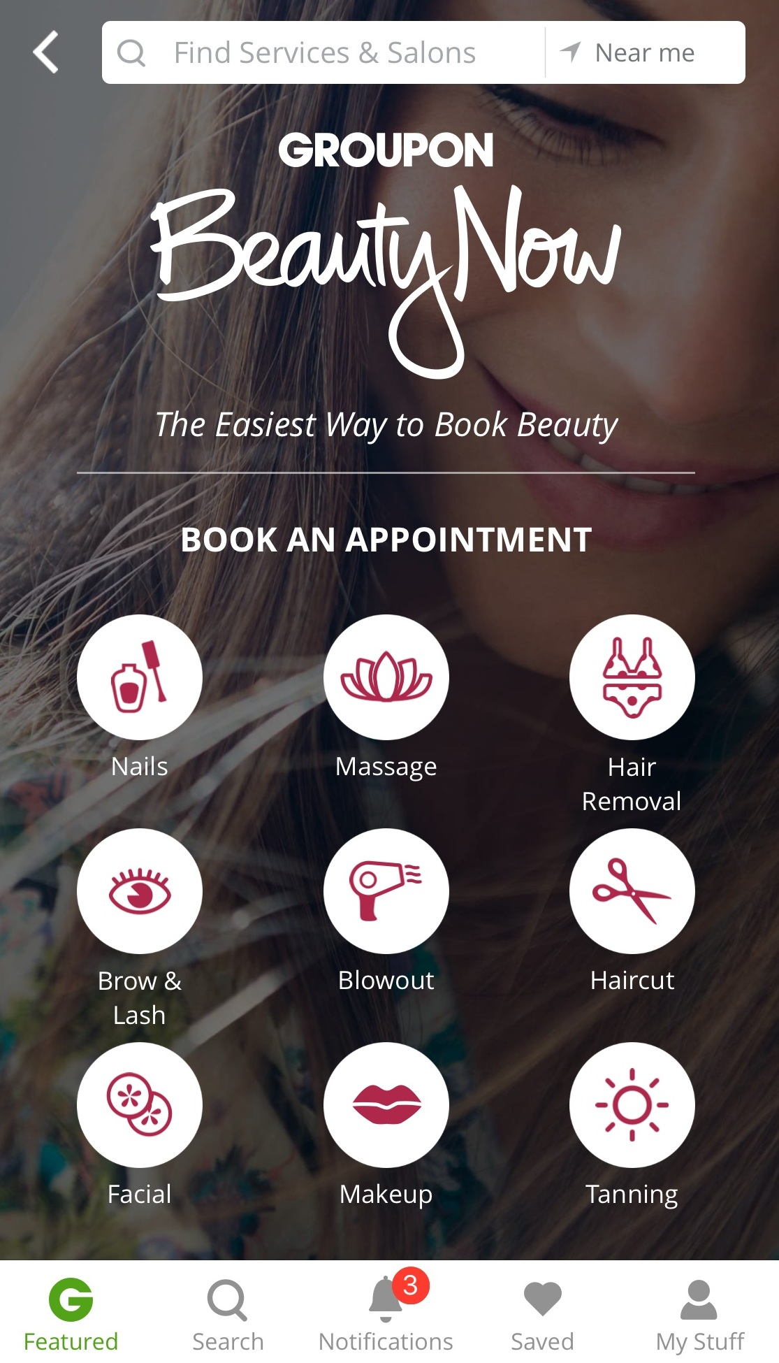 Groupon– The Easiest Spa Appointments In Town! Get Yours