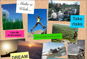 Oprah's Dream Vision Board