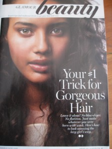 Glamour Magazine Shows Natural Hair Some Love