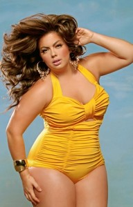 Monaco plus size swimsuit