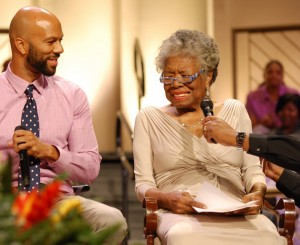 Maya Angelou and Common Find Common Ground in Chicago