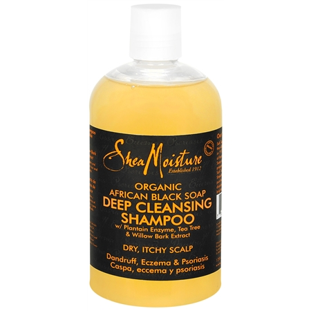 you deserve shea moisture black soap shampoo and