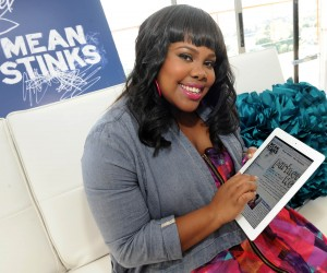 Amber Riley Glee Secret Mean Stinks