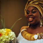 afrobella bride, afrocentric bride, black bride, black woman marriage wedding