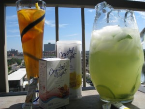 crystal light flavor over fizz challenge