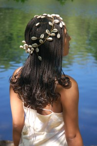 black bride, african american bride, natural hair bride