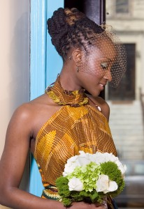 natural hair bride, african american bride, black bride, wedding, hair, bridesmaids