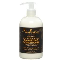 Shea Moisture Black Soap conditioner