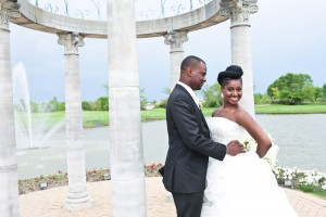natural hair bride, natural hair wedding,