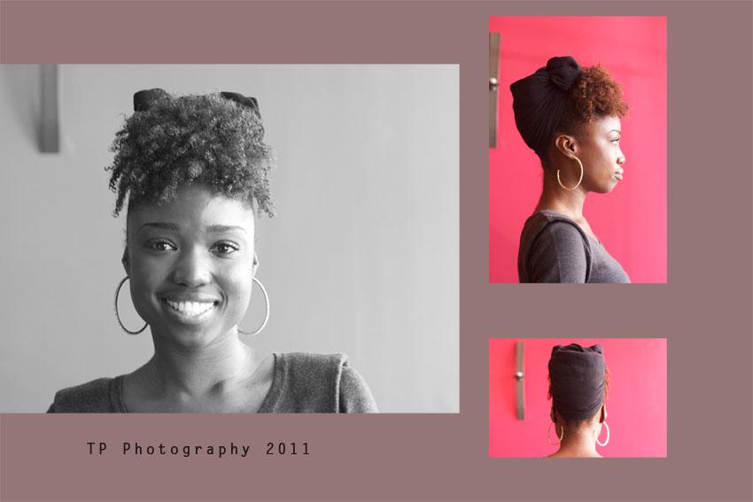 Quick Easy Head Scarf Tutorial Afrobella