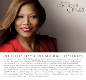 And Now, A Word From Queen Latifah About Her Cover Girl Queen Collection Lip Color