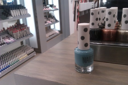 Chicago nail polish blue nail polish