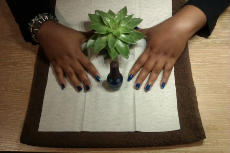 manicure, nails, spa
