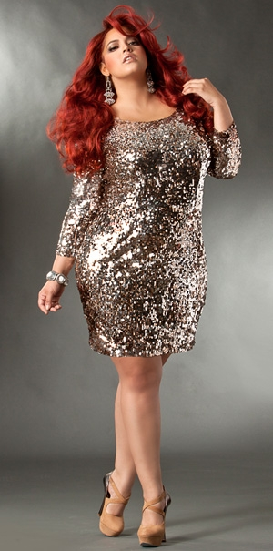 Trendy plus size holiday dresses